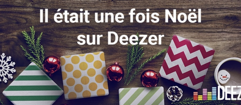 affiche deezer pour noel