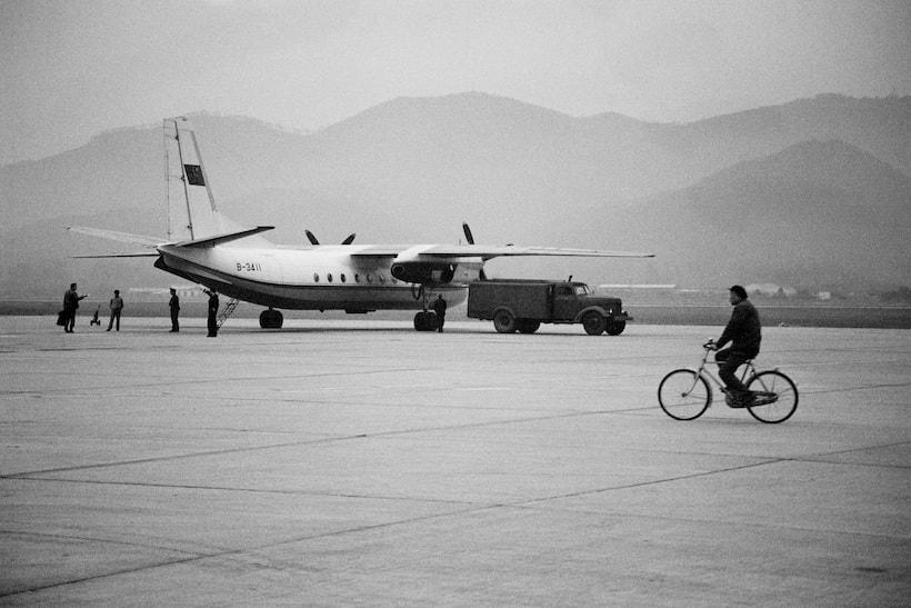 photo dun avion en chine