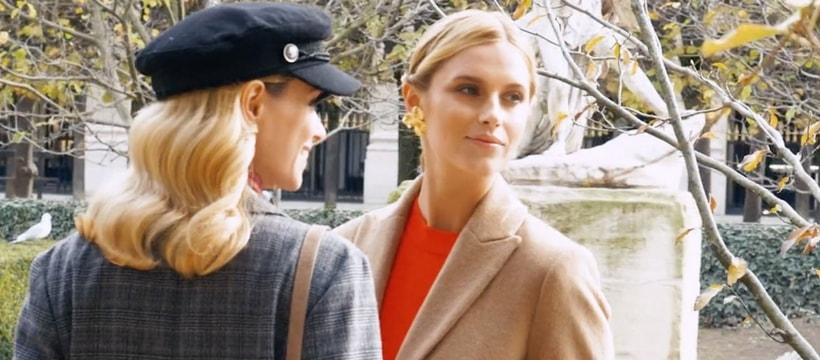 deux femmes au jardin des tuileries