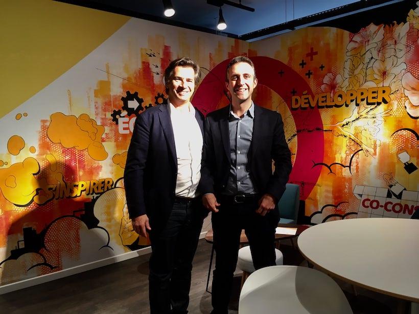 François Bitouzet et Cyril Giorgini