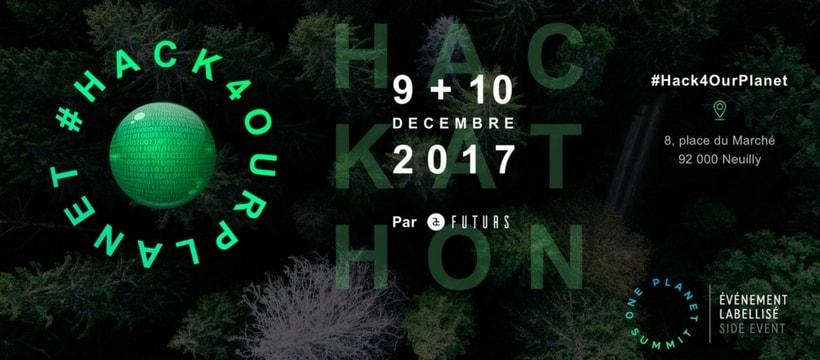 affiche de Hach4ourplanet