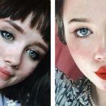 photos de hailey wait sur sa page Instagram
