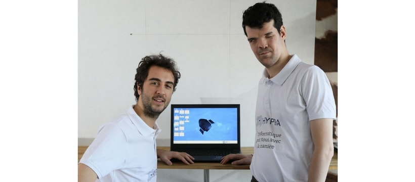 createurs de la startup hypra