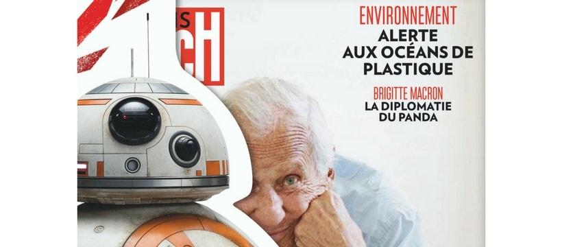 Une de Paris Match speciale Star Wars
