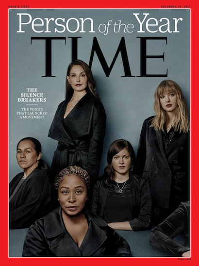 La couverture du Time pour la Person of the Year 2917