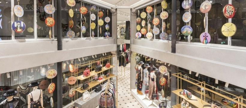 Photo du pop-up store Dior