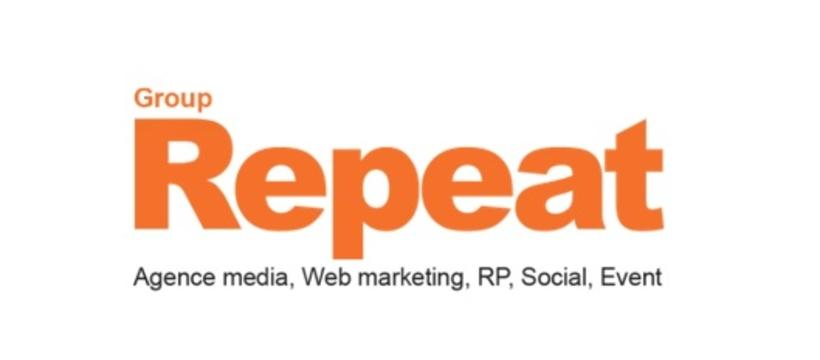 Logo de repeat groupe