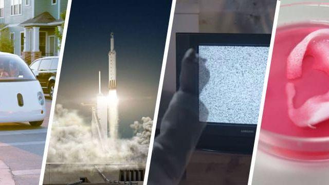 Waymo Falcon Heavy Oreille imprimée en 3D, télévision