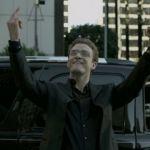 Justin Timberlake jouant Sean Parker dans le film Social Network