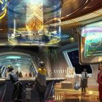 Une illustration du Star Wars resort de Disney