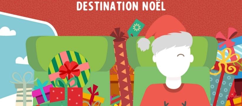 affiche de TGV pour Noel