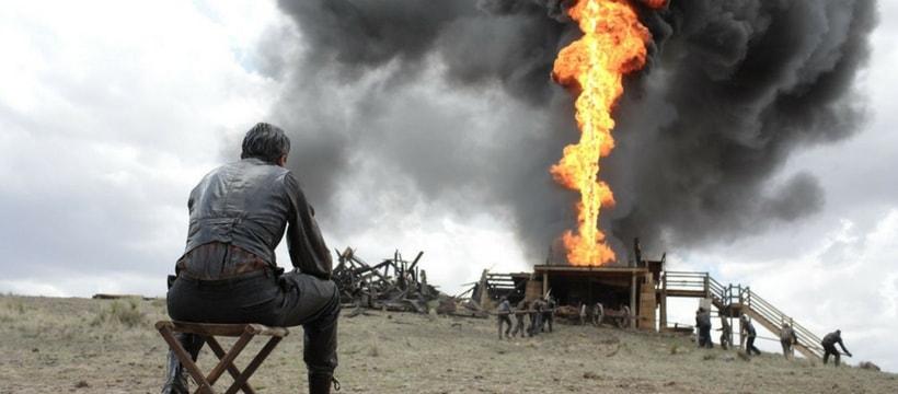 entrepreneur dexploitation petrolliere devant un puit
