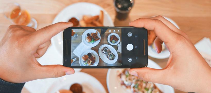 Smartphone photo Instagram
