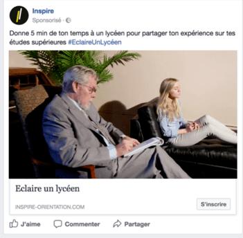 campagne sur facebook