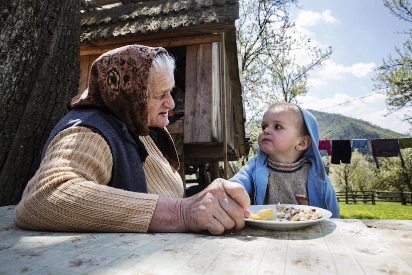 une famille en Roumanie par Géraldine Aresteanu