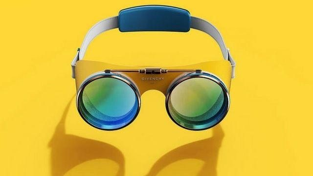 des lunettes VR conçues pour Givenchy
