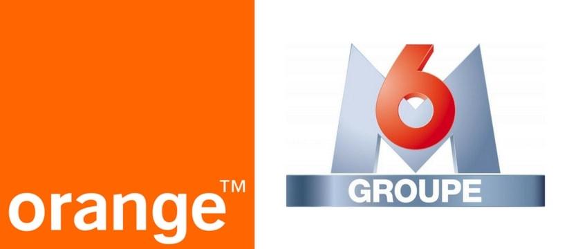 logos de groupe M6 et de orange