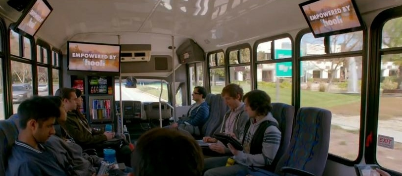 hooli bus silicon valley