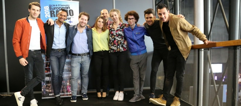 jeunes talents de la radio photo de groupe