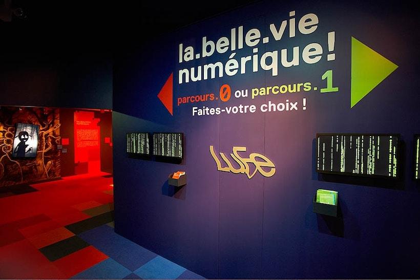 exposition à la fondation EDF La belle vie numérique
