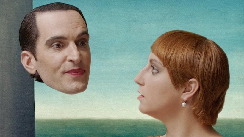 Les Amants III parodie du tableau