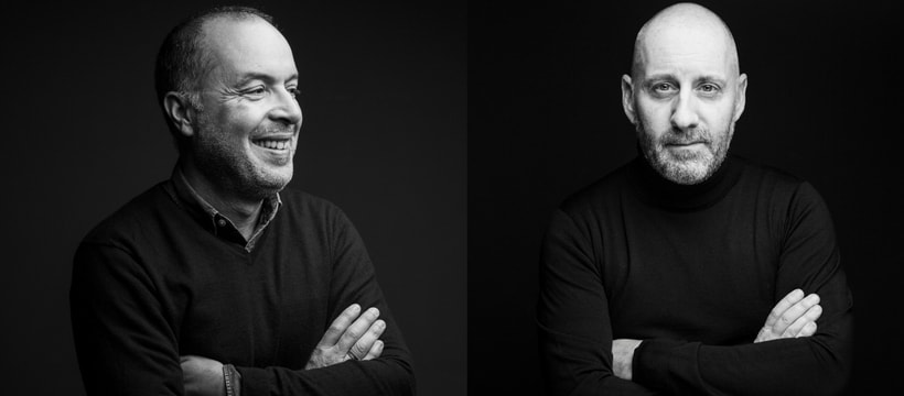 Portrat de Mondher Abdennadher et Olivier Moulierac