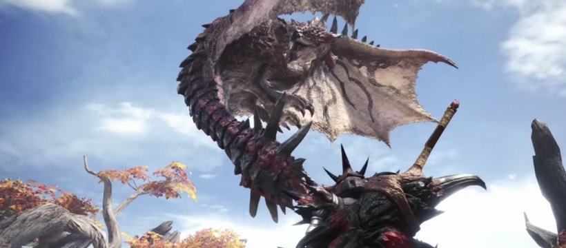 screenshot du jeu video monster hunter