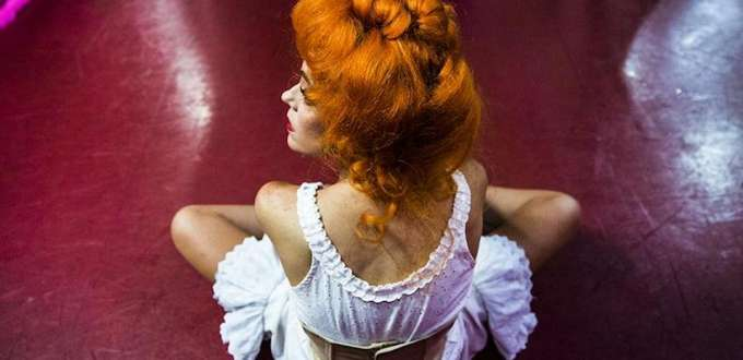 danseuse du moulin rouge