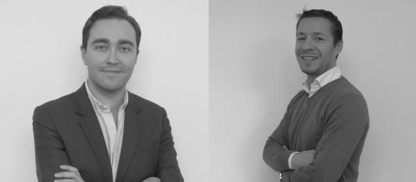 Portraits de fabien josiere et de Johan Gipch