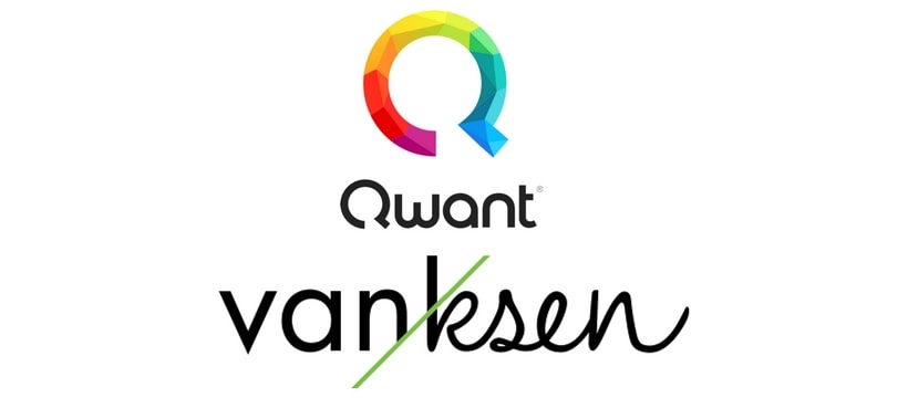 Logo de Qwant et Vanksen