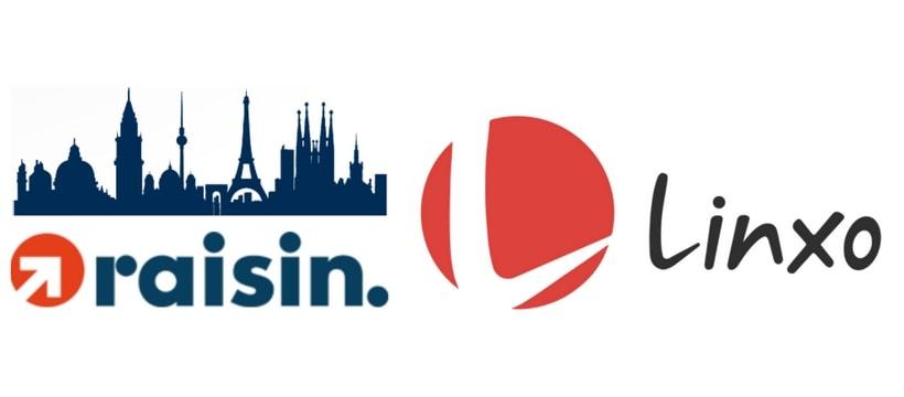 logo des startups Raisin et Linxo