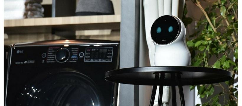 Robot connecte CLOI LG CES