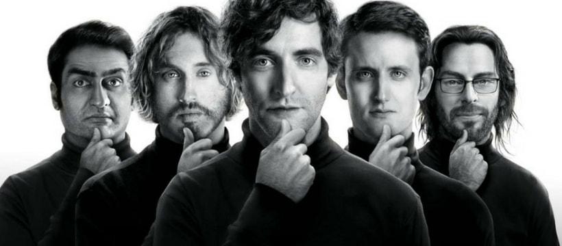 Une image de promotion pour la série Silicon Valley