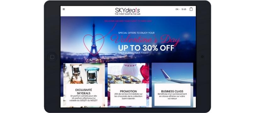 screenshot de lapplicaiton skydeals