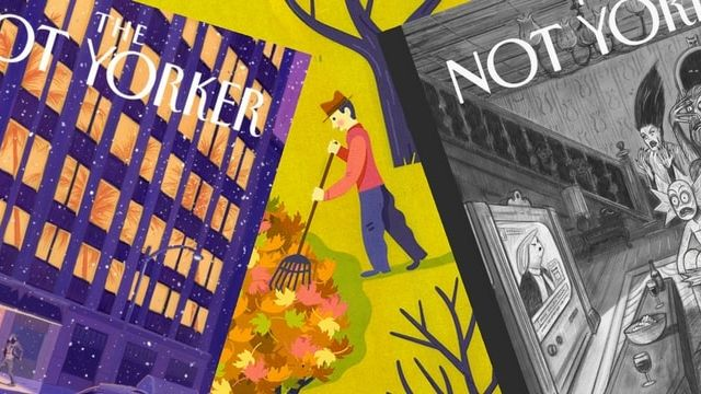 the not Yorker couvertures