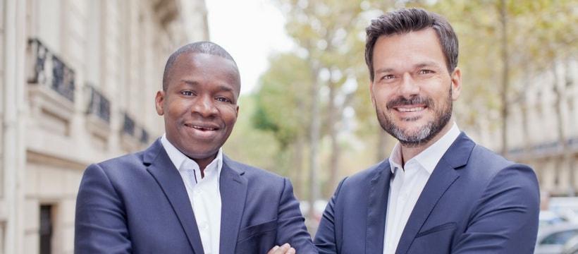 Portrait de Tidjane Deme et Cyril-Collon