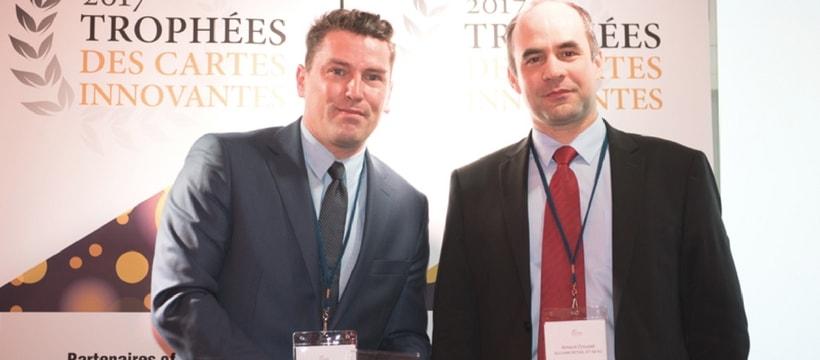 representants de la startup paymount