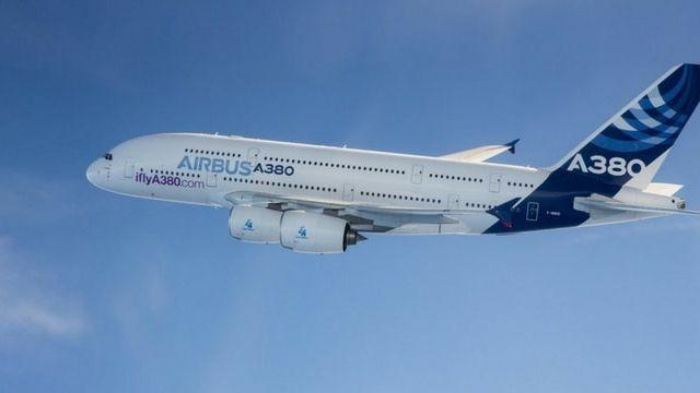 Avion airbus A380
