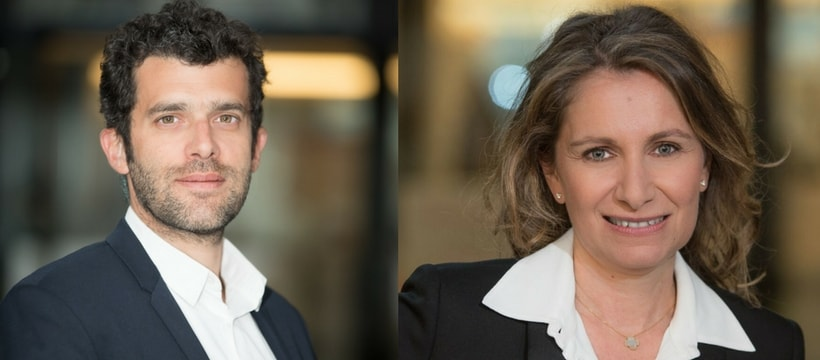 Portraits de Alexandre Viros et Valerie Chemla