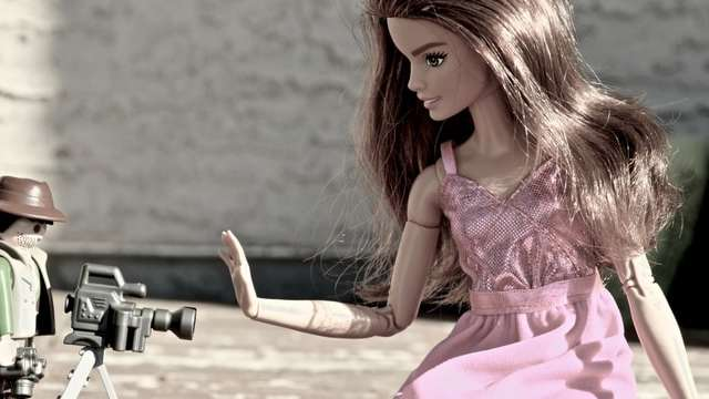 poupee barbie et paymobil