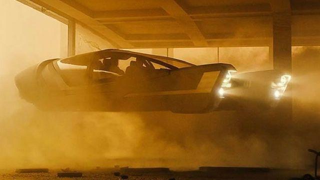 voiture dans blade runner