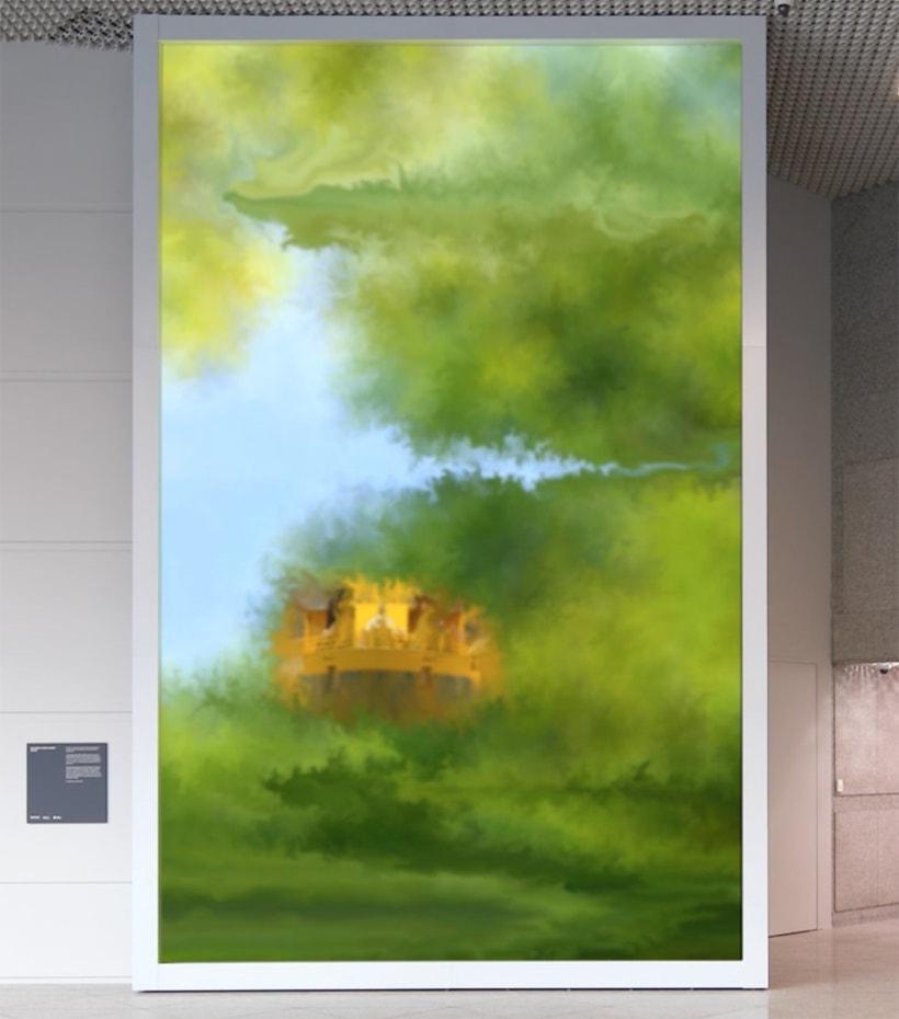 art numérique écran peinture