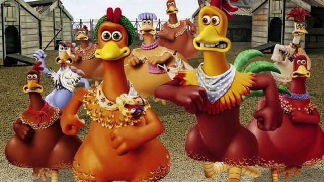 Extrait de Chicken Run