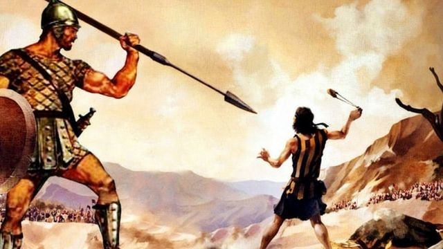 David contre Goliath