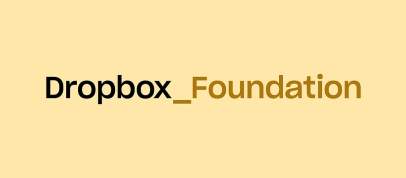 Logo de la Dropbox Foundation