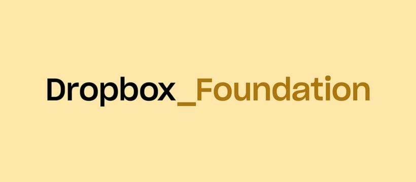 Logo de la Dropbox Foundation