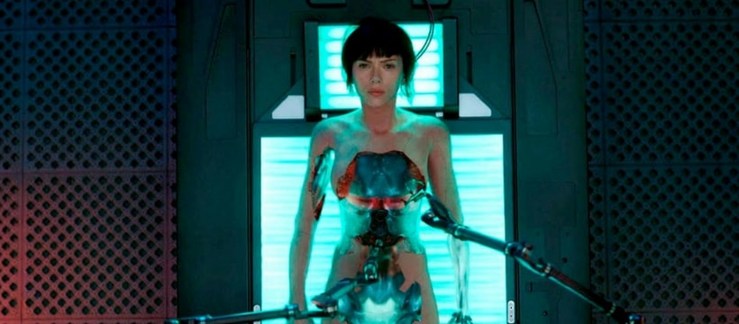 Scarlett Johansson dans Ghost in the Shell