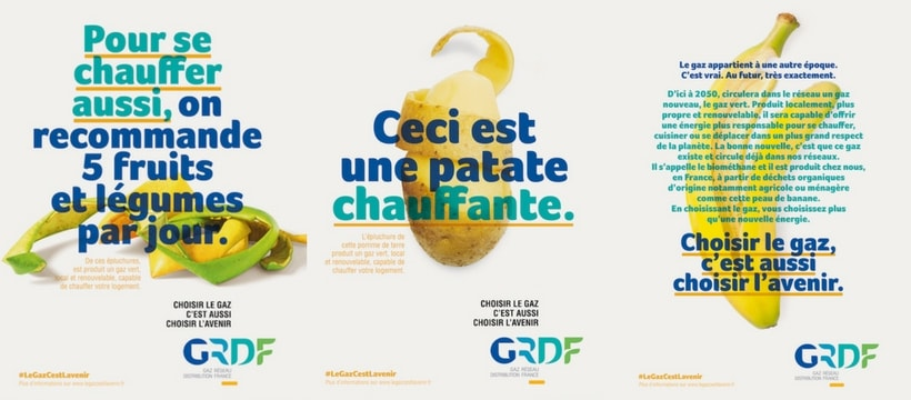 affiche GRDF