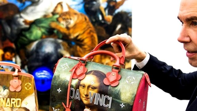 Jeff Koons avec Louis Vuitton
