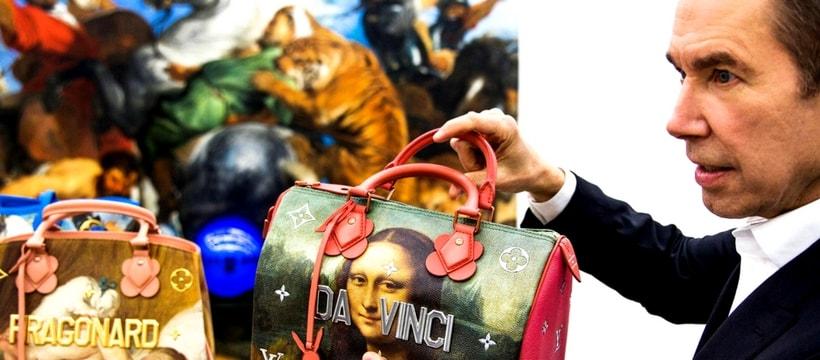 Jeff Koons avec Louis Vuitton